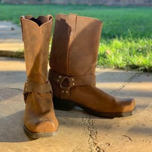 NEW DURANGO HARNESS boots - distressed brown